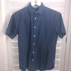 Orlebar Brown Short Sleeve Dress Shirt
